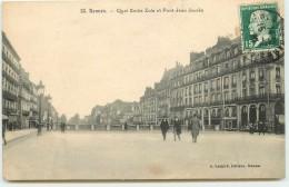 DEP 35 RENNES QUAI EMILE ZOLA ET ROND POINT JEAN JAURES - Rennes