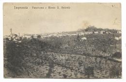 IMPRUNETA PANORAMA E MONTE S. ANTONIO 1922 VIAGGIATA FP - Firenze