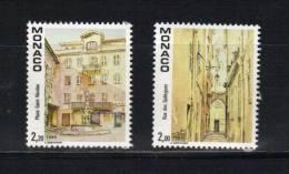 Monaco Timbres De 1989   N°1669 Et 1670 Neufs ** (vendu Prix De La Poste) - Nuovi