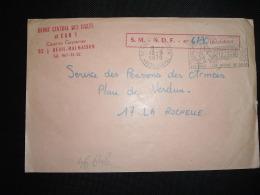 LETTRE OBL.MEC.12-9-1970 RUEIL MALMAISON (92) DEPOT CENTRAL DES ISOLES Et CAR 1 Caserne Guynemer - Marcophilie (Lettres)