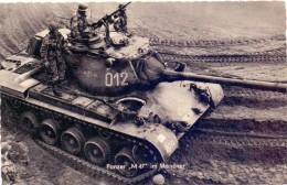 MILITÄR - Panzer / Tank / Chars - M 47 Im Manöver, Bundeswehr - Ausrüstung