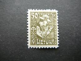 Lietuva Lithuania Litauen Lituanie Litouwen # 1921 MH # Mi.92 - Lituanie