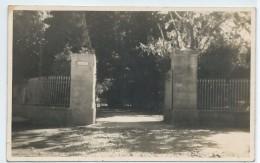 Hallines-Photo-carte ?-Entrée Du Parc Du Château Dambricourt (Voir Scan Du Verso) - Other Municipalities