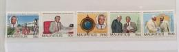 Mauritius 1990 60TH BIRTHDAY PRIME MINISTER SET MNH - Mauritius (1968-...)