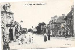 14 VAUBADON - Rue Principale - Animée - France
