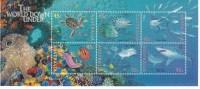 Australia 1995 World Down Under Sheetlet Mint Never Hinged ** - Neufs