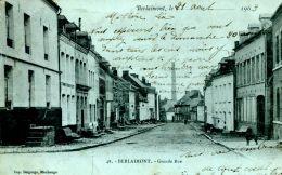 N°50241 -cpa Berlaimont -grande Rue- - Berlaimont