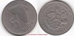 NIGERIA 5 Kobo 1973 KM#9.1 - Used - Nigeria