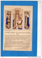 BOULOGNE SUR MER -CONGRES MARIAL  1938-illustrée  édition Maeght - Boulogne Sur Mer