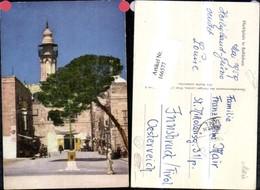 166577,Marktplatz B. Bethlehem 1959 - Israel