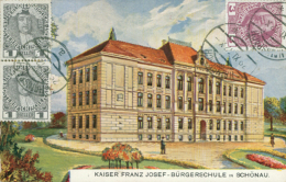 AT SCHONAU / Kaiser Franz Josef Burgerschule / - Autriche