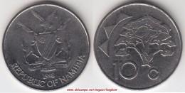 NAMIBIA 10 Cents 1998 KM#2 - Used - Namibia