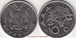 NAMIBIA 10 Cents 2009 KM#2 - Used - Namibia