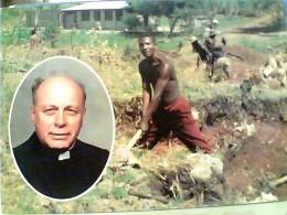 TANZANIA  KIMBIJI OPERAZIONE VILLASANTA MONZA PADRE DINO BERETTA LAVORI PER  LO STABILE    N1980   FN3453 - Tanzanía
