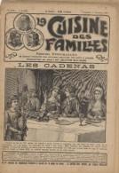 La Cuisine Des Familles, 1907-1908, 43 N°, Illustré, Menus Du Dimanche, Cosmopolite,, Boîte à Sel, Hygiène, Réception - Livres, BD, Revues