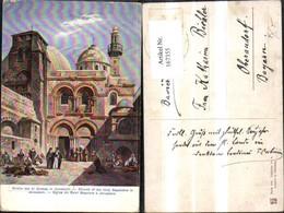 167355,Jerusalem Kirche D. Hl Grabes Sign F. Perlberg - Israel