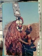 ZAIRE CONGO Afrique Confidences D'une Jeune Maman Au Masque Africain Hoa-qui N1975  FN3456 - Congo Belga - Altri