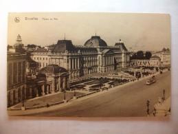 Carte Postale Belgique Bruxelles Palais Du Roi  (Petit Format Non Circulée ) - Monumenten, Gebouwen