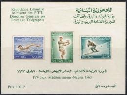 K 198 LIBAN  X  YVERT NRS  BLOK 14 ZIE SCANS - Liban