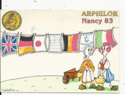 10x15  Arphlor      Nancy  En 1983   Illustrteur  Delestre - Francia