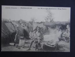COLONIES FRANCAISES - MADAGASCAR - Les Mavorongos-Antaimoros à Diégo-Suarez - Madagascar