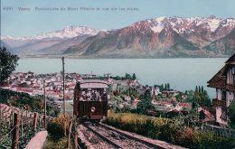 Vevey Funiculaire Du Mt Pélerin (8491) - VD Vaud