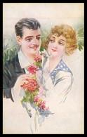ITALIA - ILUSTRADORES - (4 POSTAIS) ( Ed. Revista Stampa Nº 5092- Milano Nº 119-1 A 119-4) Carte Postale - Ilustradores & Fotógrafos