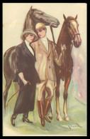 ITALIA - ILUSTRADORES - (6 POSTAIS) ( Ed.Revista Stampa 325-1 A 325-6) Carte Postale - Illustratori & Fotografie