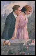 ITALIA - ILUSTRADORES -« A. Simeone» (6 POSTAIS) ( Ed.Revista Stampa 109-1 A 109-6) Carte Postale - Künstlerkarten