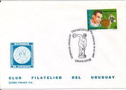 Uruguay FDC 26-11-1997 Adesio Lombardo - Uruguay