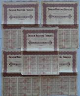 Action De 100 Francs Au Porteur Omnium Maritime Francais 1926 - Navigation