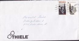 Denmark THIELE (Glasses Brillen) KØBENHAVN 1995 Cover Brief Europa CEPT Montgomery Stamp WWF Vignette Flying Squirrel - Dänemark