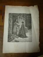 Gravures Anciennes De Pages De FABLES De LA FONTAINE Dont Texte (pages éparses), Gravures Signées G. Doré - Non Classés