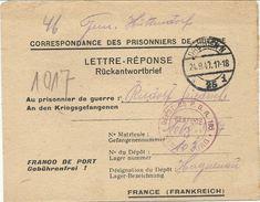 WW2 - Prisonnier De Guerre Allemand - Lager N°103 De Haguenau Pour Dresden. 1947 - Marcophilie (Lettres)