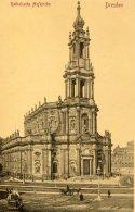 GERMANY - DRESDEN Katholishe Hofkirche - Dresden