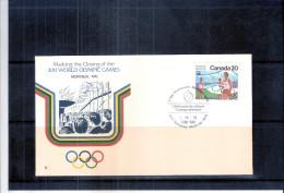 JO Montréal 1976 - FDC Canada (à Voir) - Ete 1976: Montréal