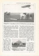 LAMINA 3812: VIAJE DE BLERIOT DE TOURY A ARTENAY - Unclassified