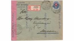Finland Cover Sent From Pietarsaari To Stockholm 18.3.15 - 1856-1917 Russische Administratie