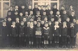 Klasfoto Fotokaart Kinderen    Op Bord Staat Foyt Lez Seneffe    A 1840 - Seneffe