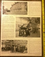 DOCUMENT ANNEE 1900 LA FABRICATION DU TIMBRE POSTE MACHINE A IMPRIMER - Collections