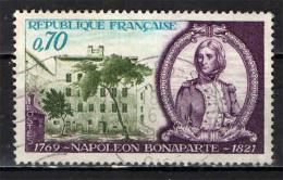 FRANCIA - 1969 - BICENTENARIO DELLA NASCITA DI NAPOLEONE BUONAPARTE - USATO - Oblitérés