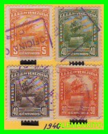 VENEZUELA  ( AMERICA )  4 SELLOS   AÑO 1940 - Venezuela