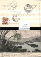 182371,Lombardia Lago Di Como Veduta Generale Del Lago Dall Isola Comacina Fino A Bel - Postcards