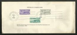 DOMINICAINE - DOMINICANA / Bloc N° 18 / Enveloppe FDC 1958