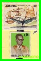 ZAIRE ( AFRICA ) 2 SELLOS  AÑO 1978 - Sellos