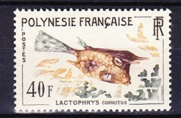 POLYNESIE FRANCAISE 1962 YT N° 21 * - Neufs