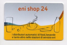 (*) 37225 - Eni Shop 24 - Distributori Automatici Food Bevande - Benzina Benzinaio - Tessera Ricarica - Schede GSM, Prepagate & Ricariche