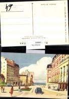 188801,Künstler AK Martinel Argentinien Alrededores Del Casino Straßenansicht - Argentinien