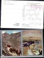 188814,Argentinien Paramillo Del Cuevas Arrieros En Plena Tarea Banos Termales Y Puen - Argentinien