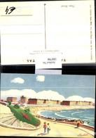 188798,Künstler AK Martinel Argentinien Playa Bristol Strand - Argentinien